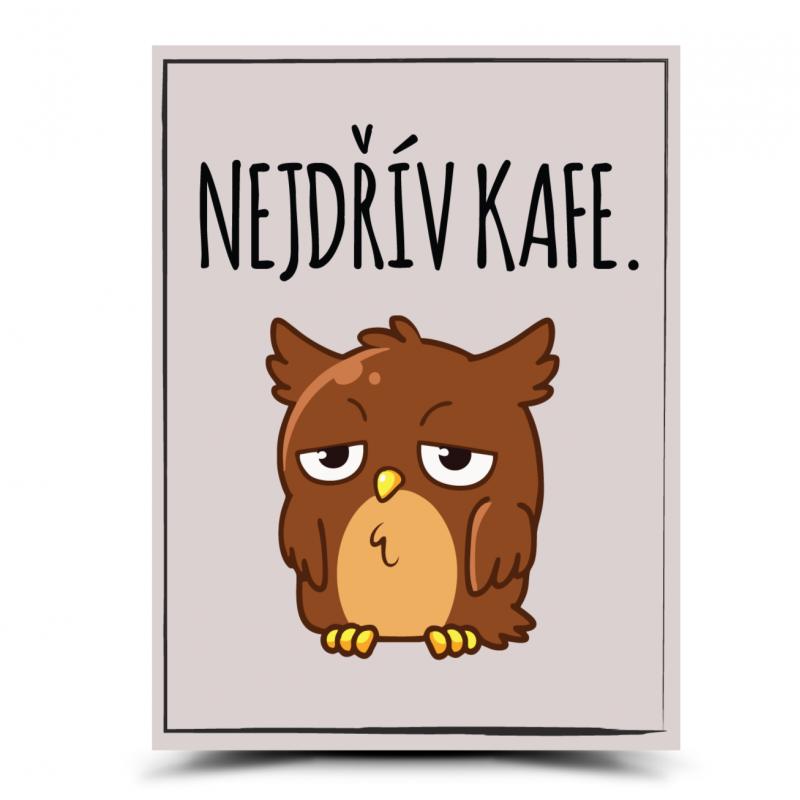 Cedulka Kafe