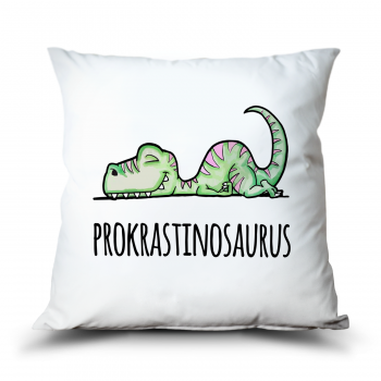 Polštář Prokrastinosaurus