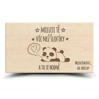 Prkénko Panda