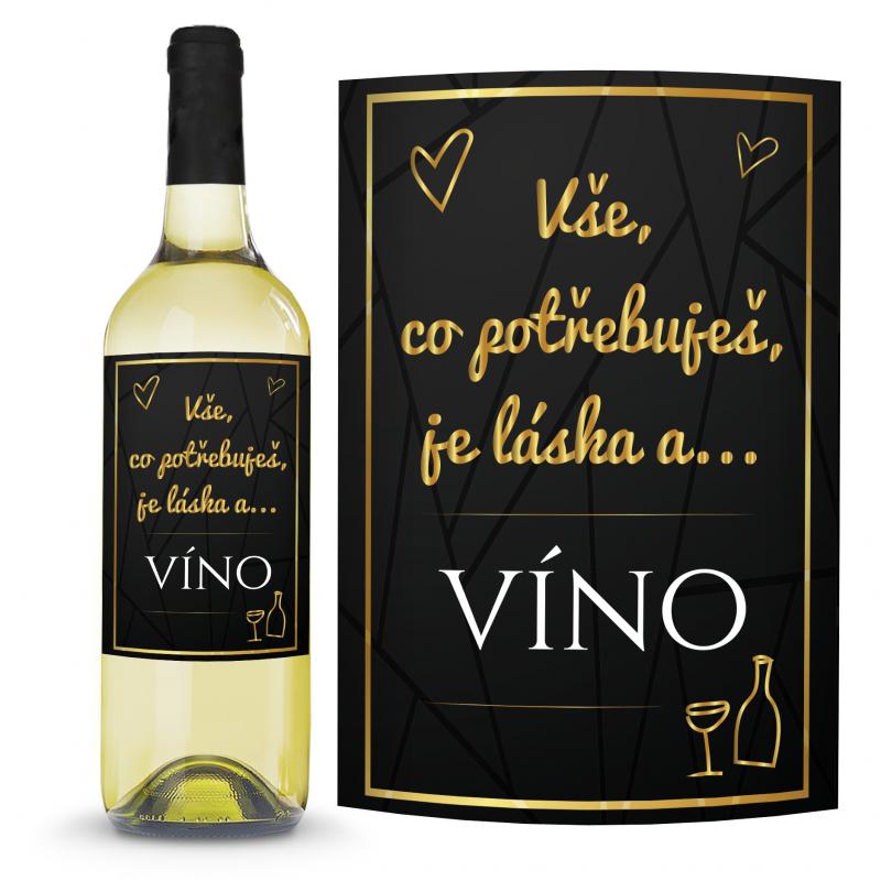 Víno Vše, co potřebuješ